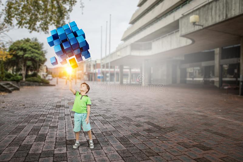 Καινοτόμες εντυπωσιακές τεχνολογίες στοκ εικόνες