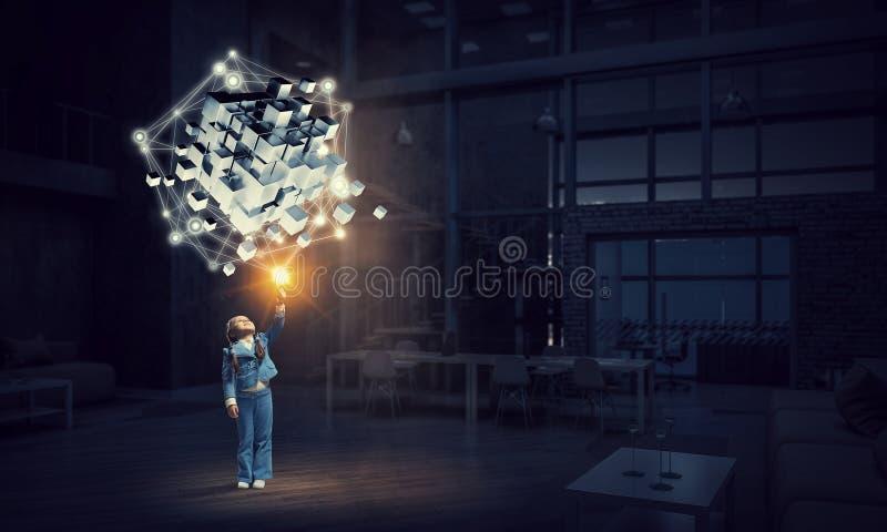 Καινοτόμες εντυπωσιακές τεχνολογίες στοκ φωτογραφία με δικαίωμα ελεύθερης χρήσης