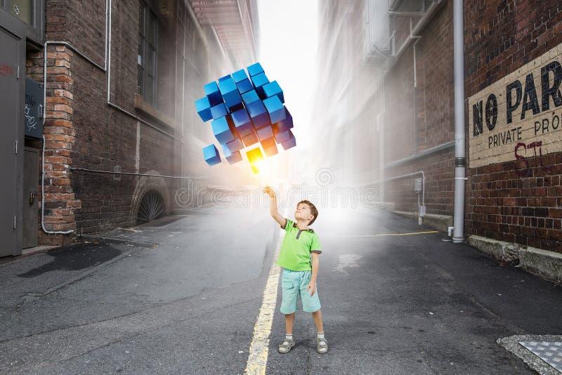 Καινοτόμες εντυπωσιακές τεχνολογίες στοκ φωτογραφίες