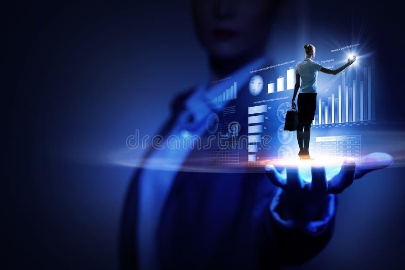 Καινοτόμες τεχνολογίες μέσων στοκ φωτογραφία
