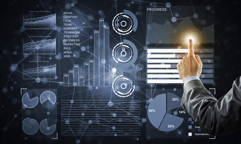 Καινοτόμος τεχνολογία για την επιχείρησή σας στοκ εικόνες