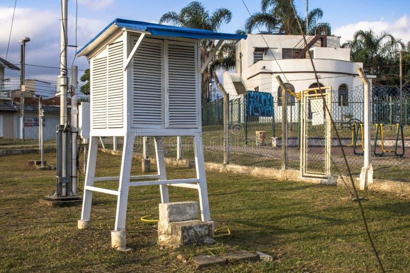 Καιρικός σταθμός της επιφυλακής Santana στοκ εικόνες