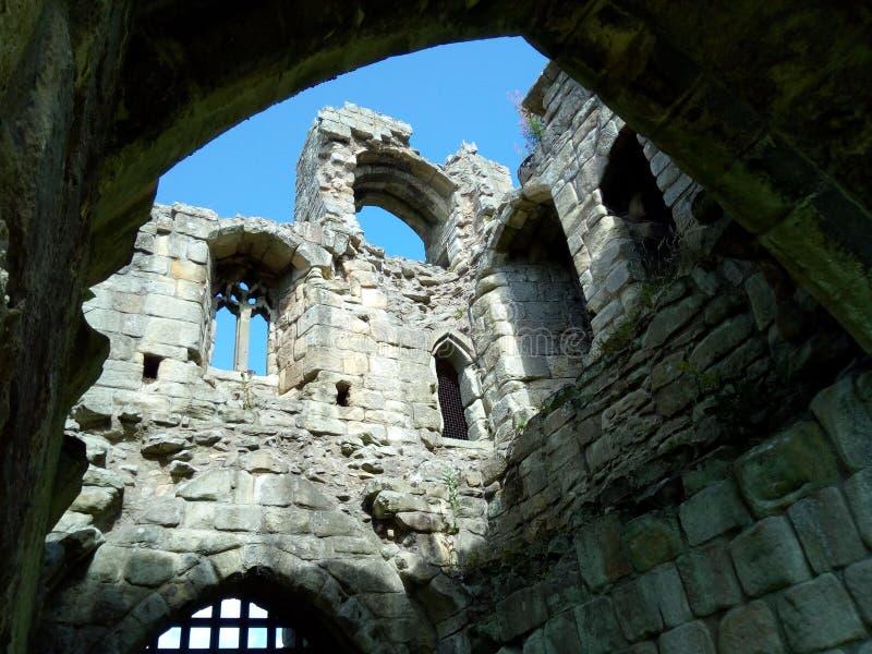 Και λοιποί κύριες πύλες του Castle και εργασία πετρών στοκ φωτογραφία με δικαίωμα ελεύθερης χρήσης