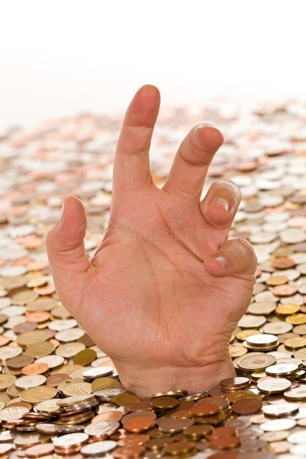 κακά χρήματα πόρων χρηματοδό&t στοκ φωτογραφία