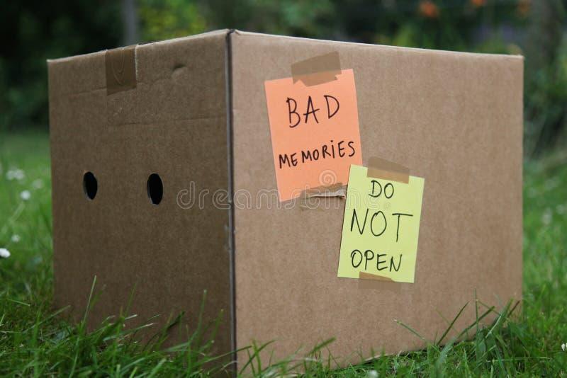Κακές μνήμες στοκ φωτογραφία με δικαίωμα ελεύθερης χρήσης