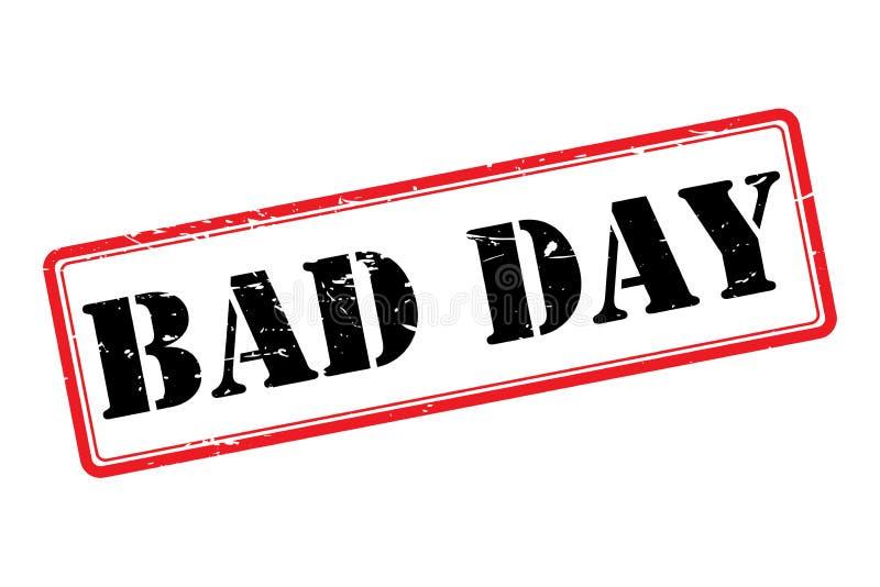 κακή ημέρα απεικόνιση αποθεμάτων