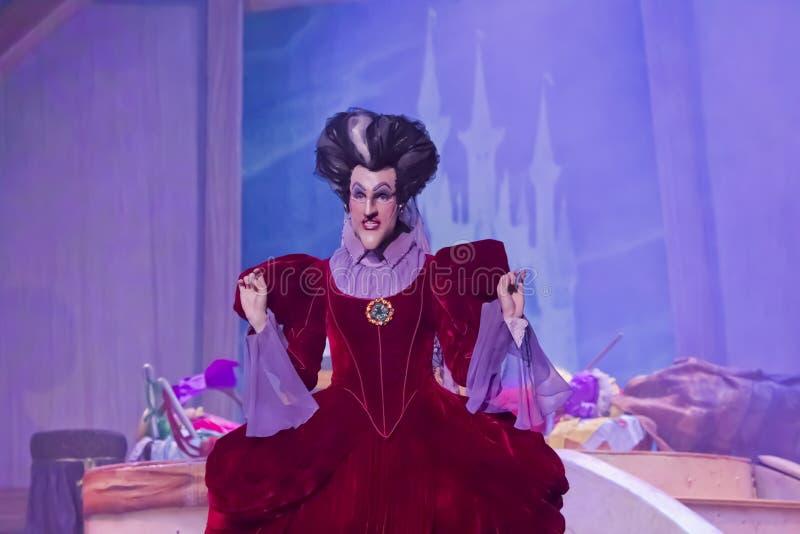 Κακή θετή μητέρα Cinderella στοκ φωτογραφία