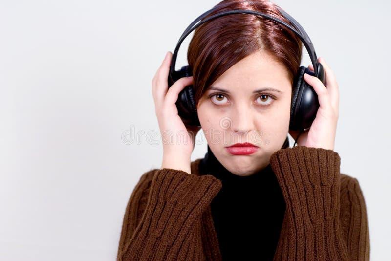 κακή μουσική στοκ φωτογραφία
