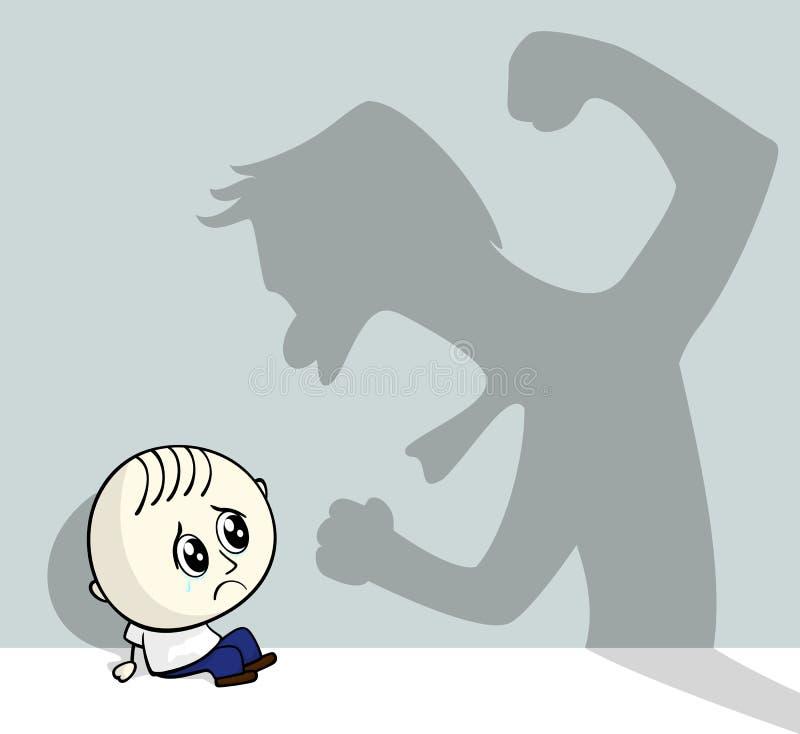 Κακοποίηση ανηλίκου ελεύθερη απεικόνιση δικαιώματος