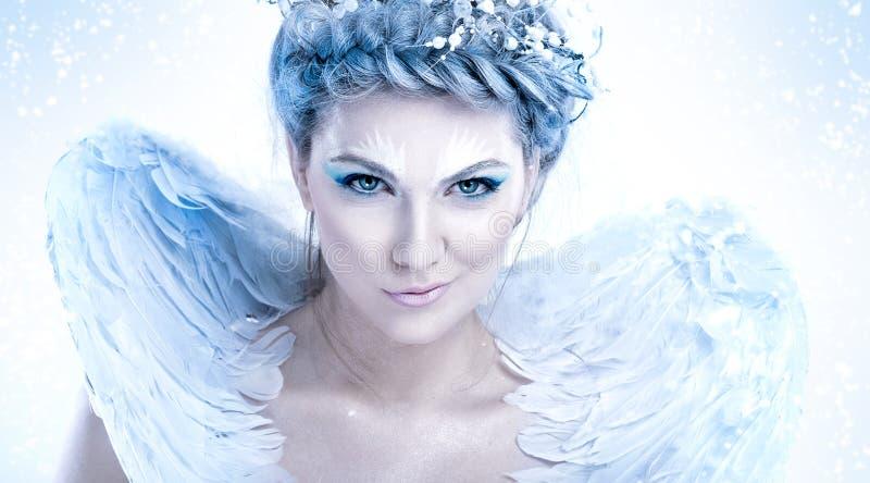 Κακόβουλη βασίλισσα χιονιού στοκ φωτογραφία με δικαίωμα ελεύθερης χρήσης