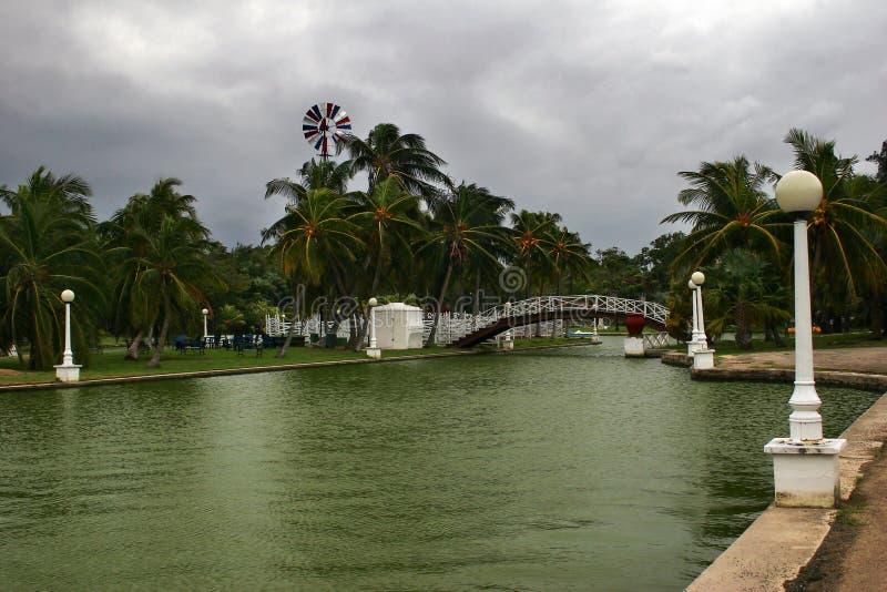 κακός καιρός Varadero πάρκων στοκ φωτογραφία με δικαίωμα ελεύθερης χρήσης