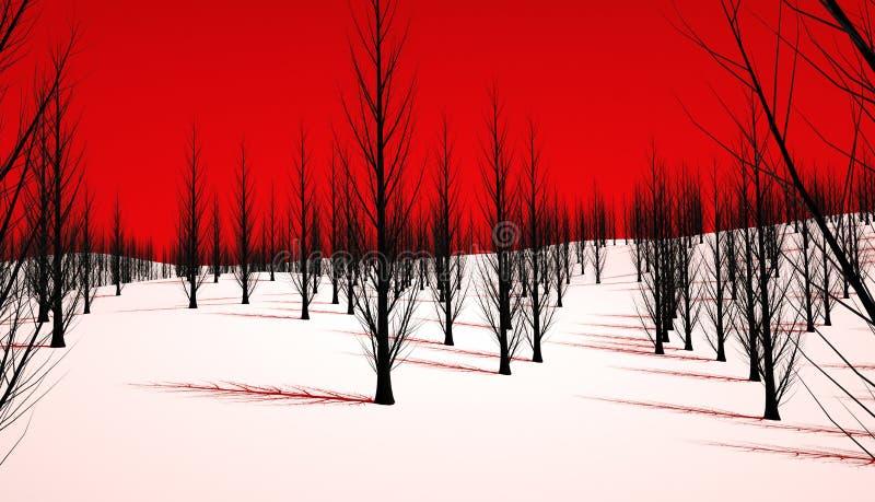 Κακό δάσος ελεύθερη απεικόνιση δικαιώματος