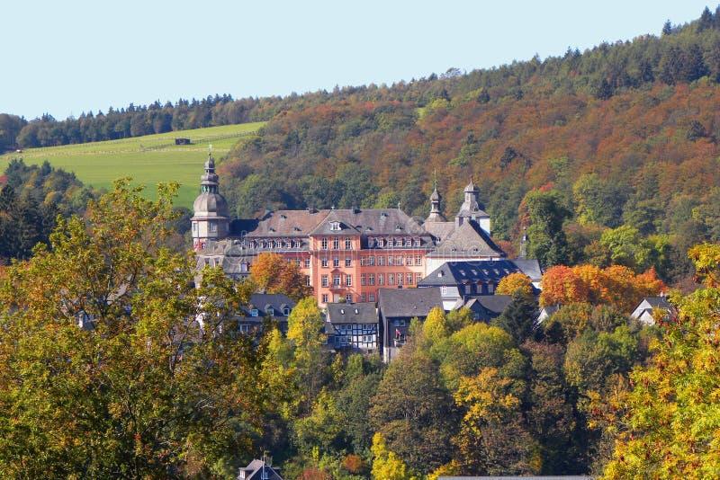 κακό κάστρο berleburg στοκ εικόνες
