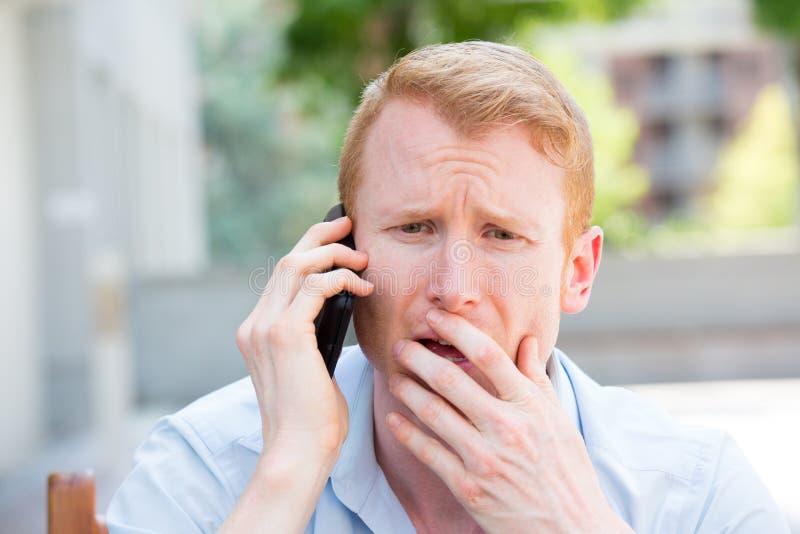 κακό τηλέφωνο ειδήσεων στοκ εικόνες