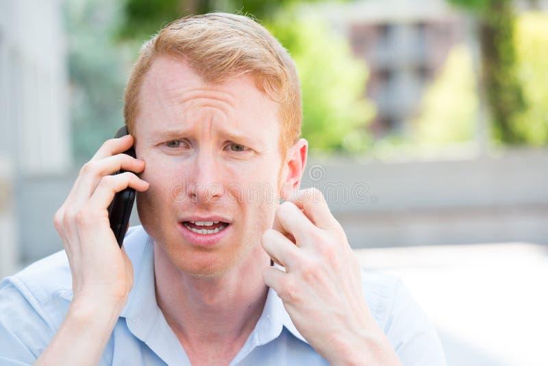 κακό τηλέφωνο ειδήσεων στοκ φωτογραφία με δικαίωμα ελεύθερης χρήσης