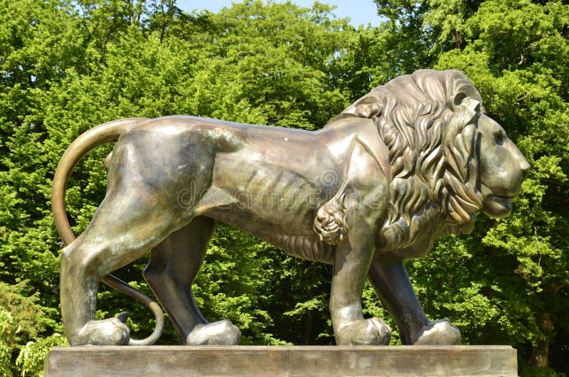 κακό muskau λιονταριών κάστρων νέο στοκ φωτογραφία με δικαίωμα ελεύθερης χρήσης