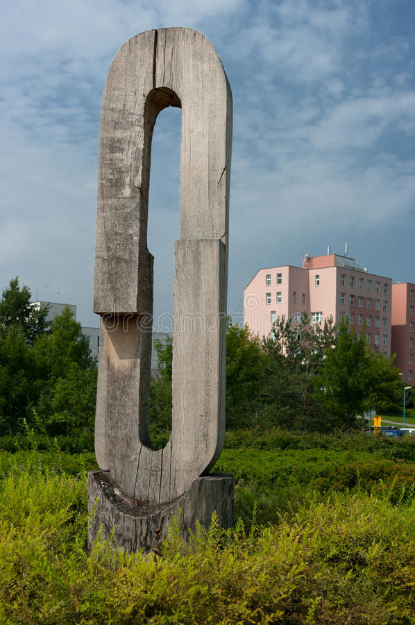 Κακώς διατηρημένο αστικό πάρκο στοκ εικόνες με δικαίωμα ελεύθερης χρήσης
