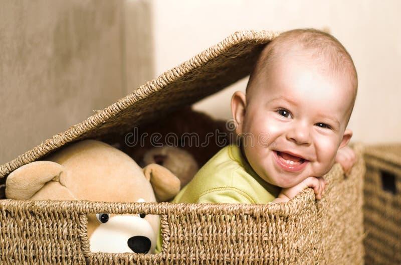καλάθι μωρών στοκ εικόνες