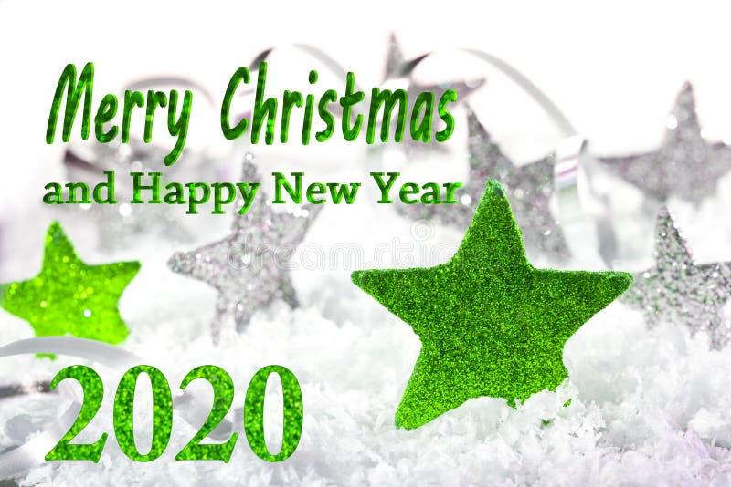 Καλά Χριστούγεννα 2020 στοκ εικόνα με δικαίωμα ελεύθερης χρήσης