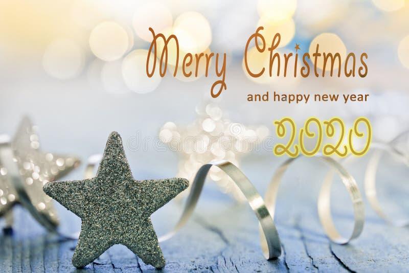 Καλά Χριστούγεννα 2020 στοκ εικόνες