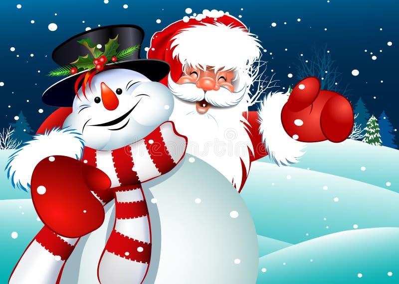 Καλά Χριστούγεννα! διανυσματική απεικόνιση