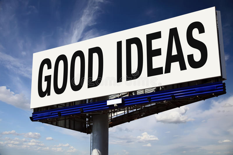 καλές ιδέες πόλεων που χ&al στοκ εικόνες