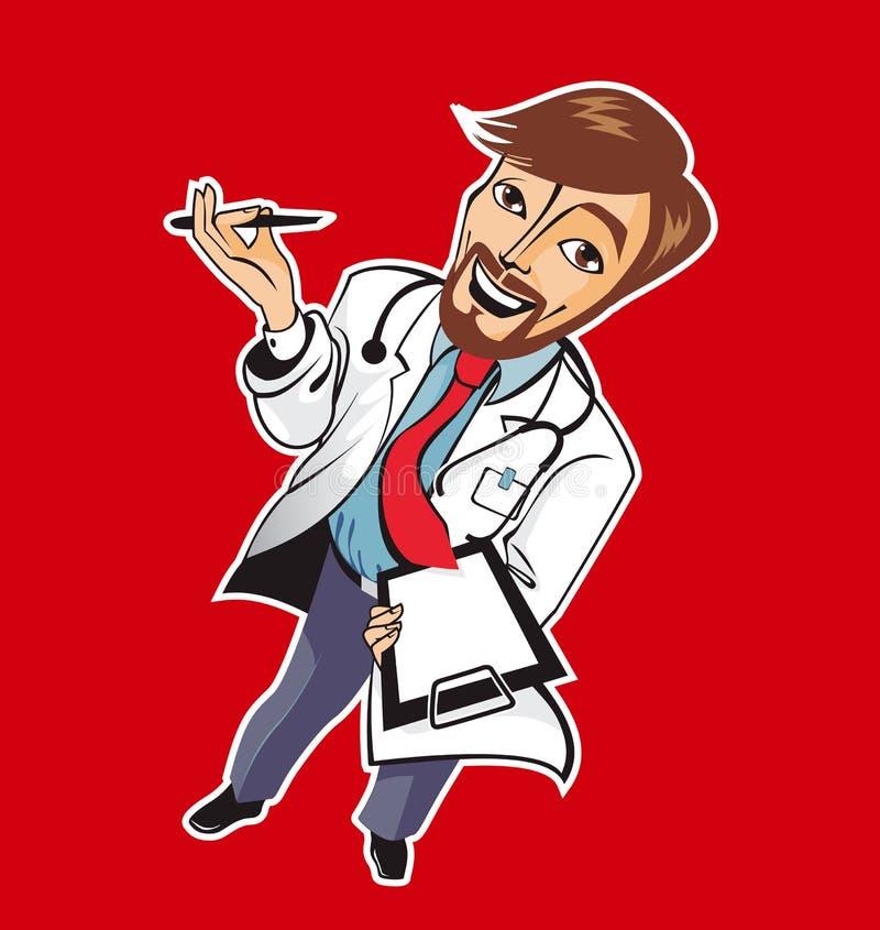 καλές νεολαίες γιατρών διανυσματική απεικόνιση