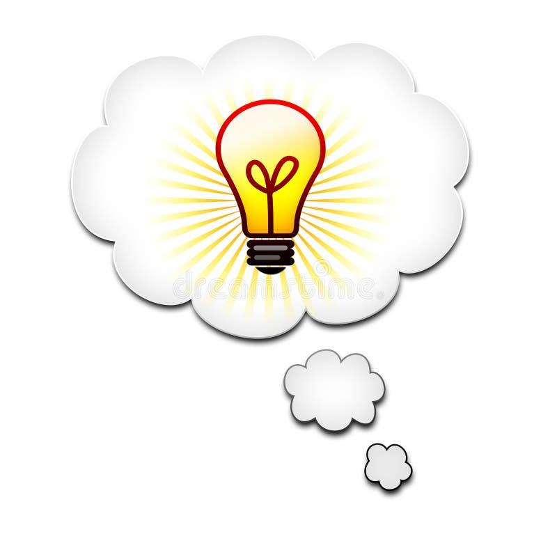 Download καλή σκέψη ιδέας φυσαλίδων απεικόνιση αποθεμάτων. εικονογραφία από brigid - 22787766