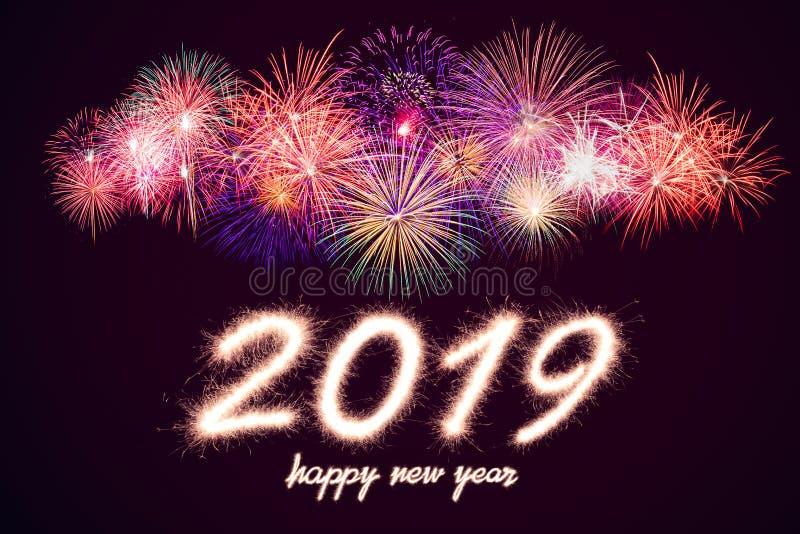 Καλή χρονιά 2019 στοκ φωτογραφίες