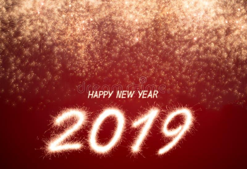 Καλή χρονιά 2019 στοκ φωτογραφία με δικαίωμα ελεύθερης χρήσης