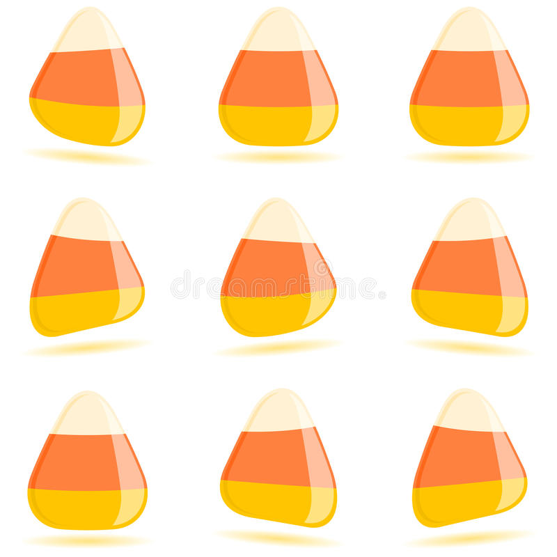 καλαμπόκι καραμελών απεικόνιση αποθεμάτων