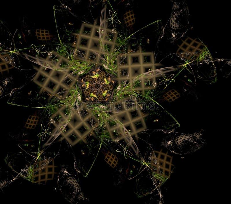 Καλειδοσκόπιο, ornamentn, σχέδιο διανυσματική απεικόνιση