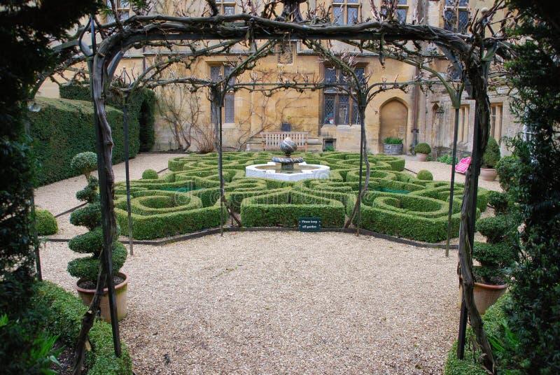 καλημάνα κήπων στοκ φωτογραφία