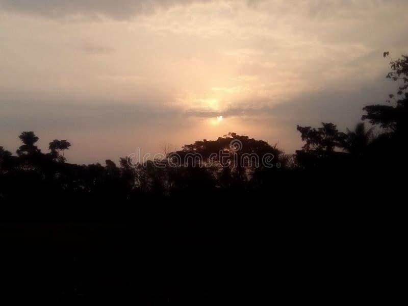 Καλημέρα το χωριό μου στοκ εικόνες