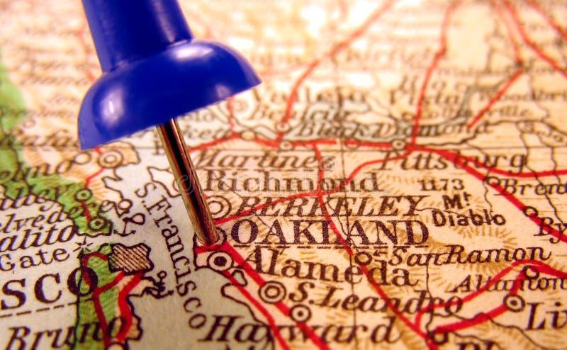 Καλιφόρνια Όουκλαντ στοκ φωτογραφία