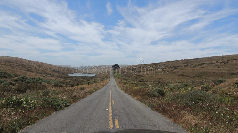 Καλιφόρνια Roadtrip στοκ εικόνες