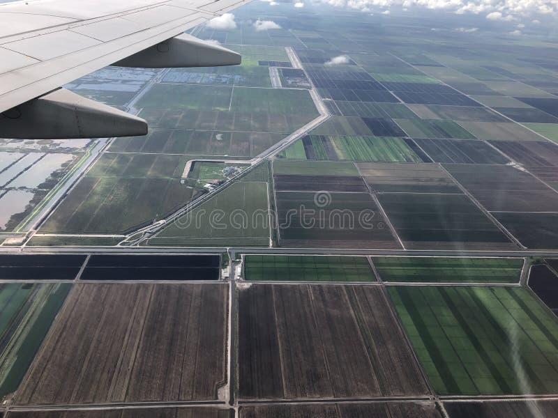 καλλιεργήσιμα εδάφη στη νότια Φλώριδα στοκ εικόνα με δικαίωμα ελεύθερης χρήσης