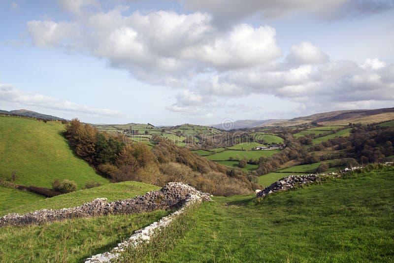 καλλιεργήσιμο έδαφος Ουαλία στοκ φωτογραφία με δικαίωμα ελεύθερης χρήσης