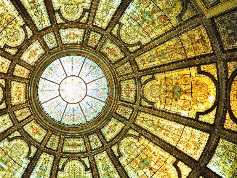 καλλιεργητικό εσωτερικό του κεντρικού Σικάγου στοκ εικόνες