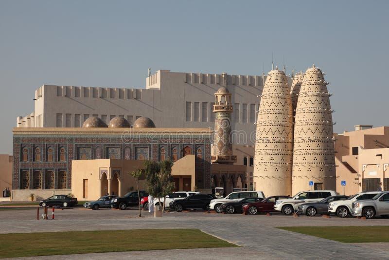 Καλλιεργητικό χωριό Katara σε Doha στοκ φωτογραφίες με δικαίωμα ελεύθερης χρήσης