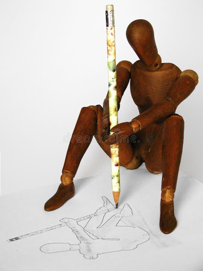 καλλιτέχνης Στοκ εικόνα με δικαίωμα ελεύθερης χρήσης