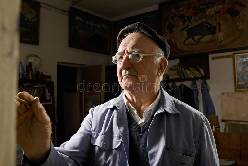 Καλλιτέχνης easel στοκ εικόνες