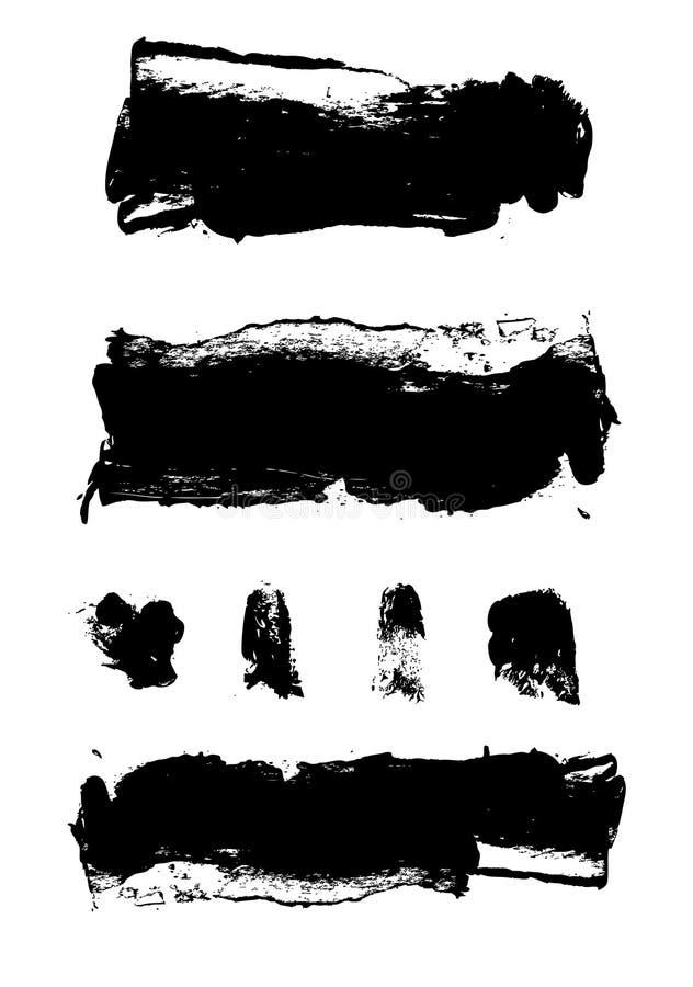 καλλιτεχνικά σημεία χρωμά διανυσματική απεικόνιση