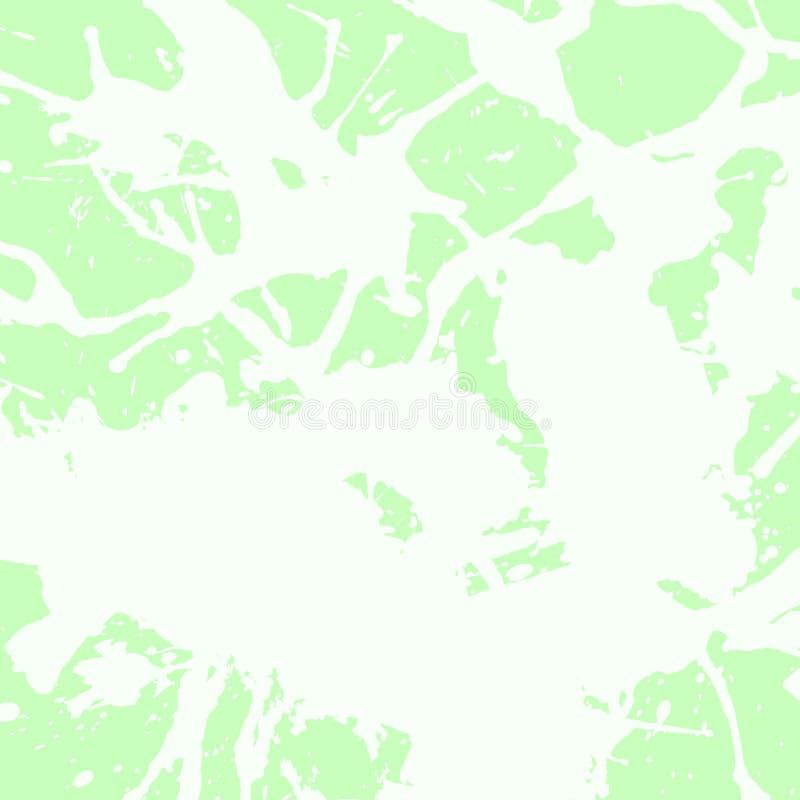 Καλλιτεχνικοί παφλασμοί χρωμάτων απεικόνιση αποθεμάτων