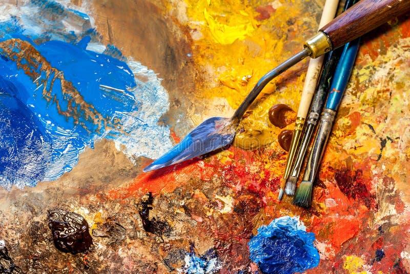 καλλιτεχνικός εξοπλισ& στοκ φωτογραφία με δικαίωμα ελεύθερης χρήσης
