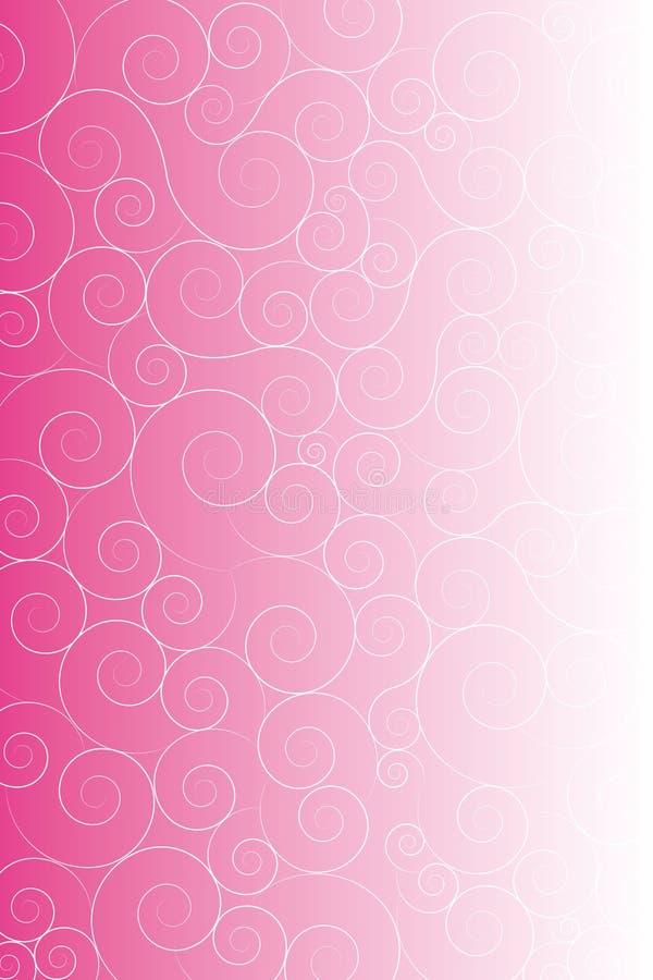 καλλιτεχνικό ροζ ανασκό&p διανυσματική απεικόνιση