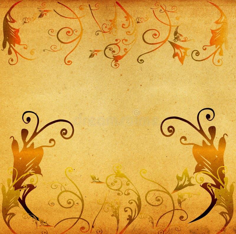 Download καλλιτεχνικό συρμένο Grunge τοπίο χεριών Απεικόνιση αποθεμάτων - εικονογραφία από αυλάκι, arroyos: 1532734