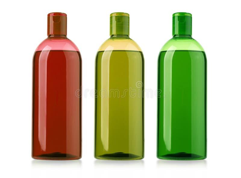 Καλλυντικό μπουκάλι στο λευκό στοκ φωτογραφία με δικαίωμα ελεύθερης χρήσης