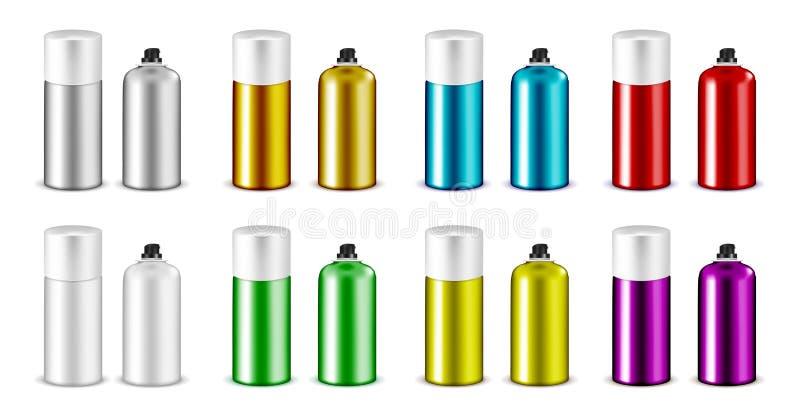Καλλυντικό μπουκάλι ψεκασμού πλαστικού ή μετάλλων με την ΚΑΠ απεικόνιση αποθεμάτων