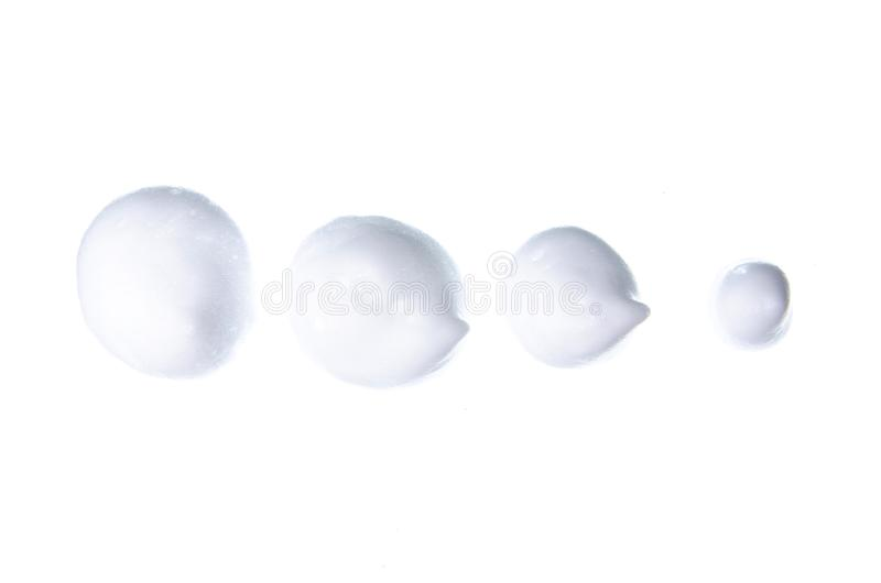 Καλλυντικό mousse αφρού στοκ φωτογραφίες με δικαίωμα ελεύθερης χρήσης